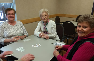 Playing bid euchre