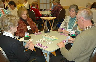 Playing duplicate bridge